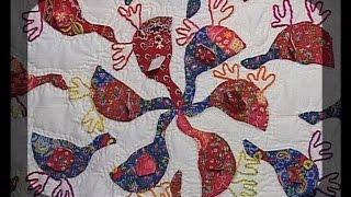 Лоскутное шитье. Шьем одеяло используя технологию аппликации. Мастер класс. Татьяна Лазарева