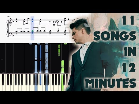 PANIC! AT THE DISCO 🙏 PRAY FOR THE WICKED 🎹 ULTIMATE PIANO MASHUP
