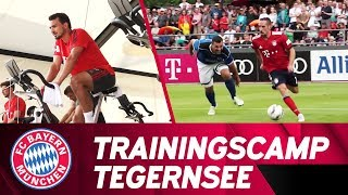 Training, Tests & Tactics | FC Bayern's Trainingscamp at the Tegernsee