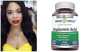 AMAZING NUTRITION HYALURONIC ACID SUPPLEMENTS REVIEW!!!