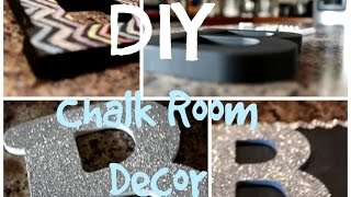 DIY Chalk Room Decor ♥ ♥ ♥ Thumbnail