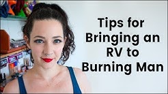 Tips for Bringing an RV to Burning Man