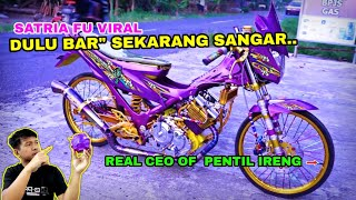 SATRIA FU YUTUBER BAN CACING NO. 1 seINDONESIA   REACT!!!