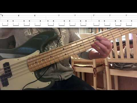 Red Hot Chili Peppers- Death Of A Martian (Bass Cover & Tabs) mp3