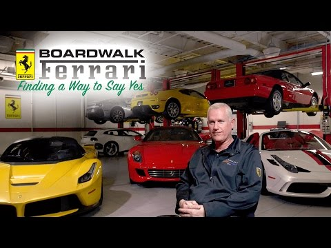 Boardwalk Ferrari: Finding a Way to Say Yes
