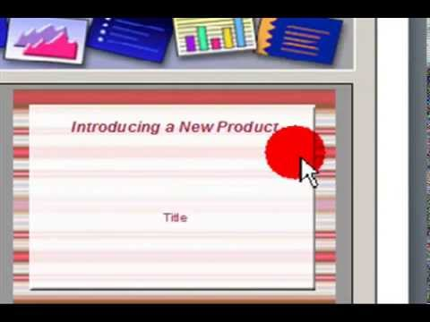Create Presentation With From Template In OpenOffice.Org Impress ...
