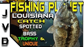 Fishing Planet | EP 27 | How to Catch Spotted Bass Trophy & Unique | Quanchkin Lake | Louisiana
