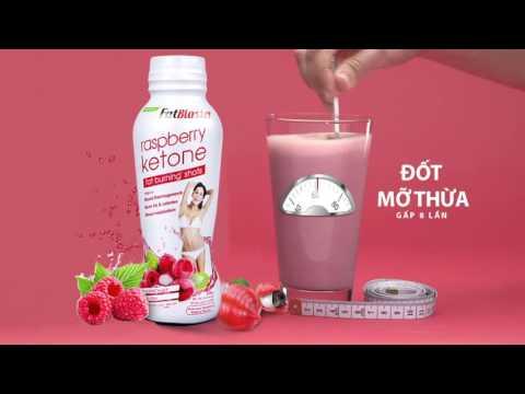 Combo Coconut Detox - Raspberry khắc tinh của mỡ thừa