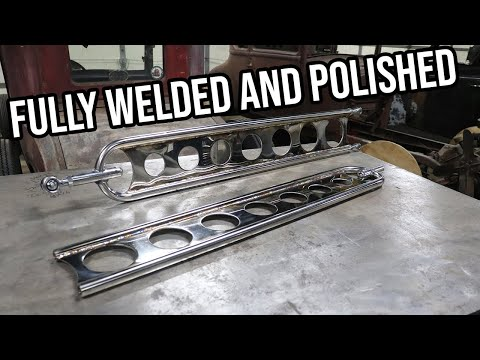 Polishing And Welding Custom Hairpins - 1930 Ford Model A Roadster