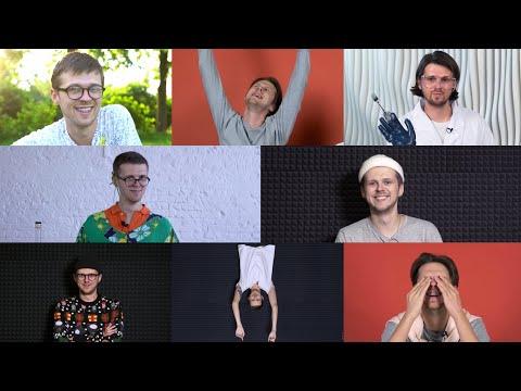 эволюция Жени Калинкина / кусочек из каждого видео Smetana Tv