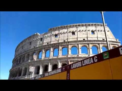 Ancient Gladiator Arena At Colosseum Colosseo Rome Italy Youtube