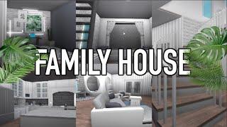 Visite de Family House!♡ TWIN'S ROOM REVEAL - France Roblox Bloxburg - France Arabellaa Arabellaa