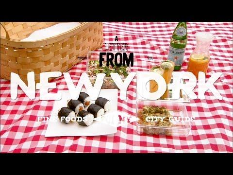 ニューヨークスタイルのおにぎりと焼き鳥でピクニックに!| A LETTER FROM NEW YORK