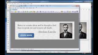 Creating web banners and graphics with free software (LibreOffice Draw)