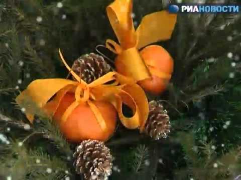 Хвойная икебана вместо новогодней елки