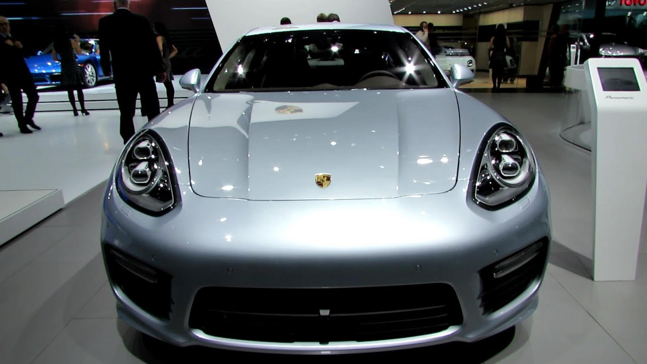 2015 porsche panamera turbo s exclusive exterior and interior walkaround 2014 detroit auto show youtube - 2015 Porsche Panamera 4s