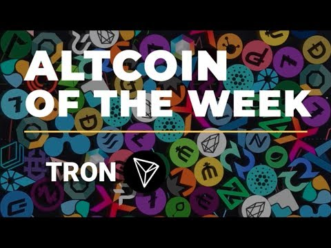 TRON IS A SCAM?! TRON PRICE $5 2018!!  ALTCOIN OF THE WEEK