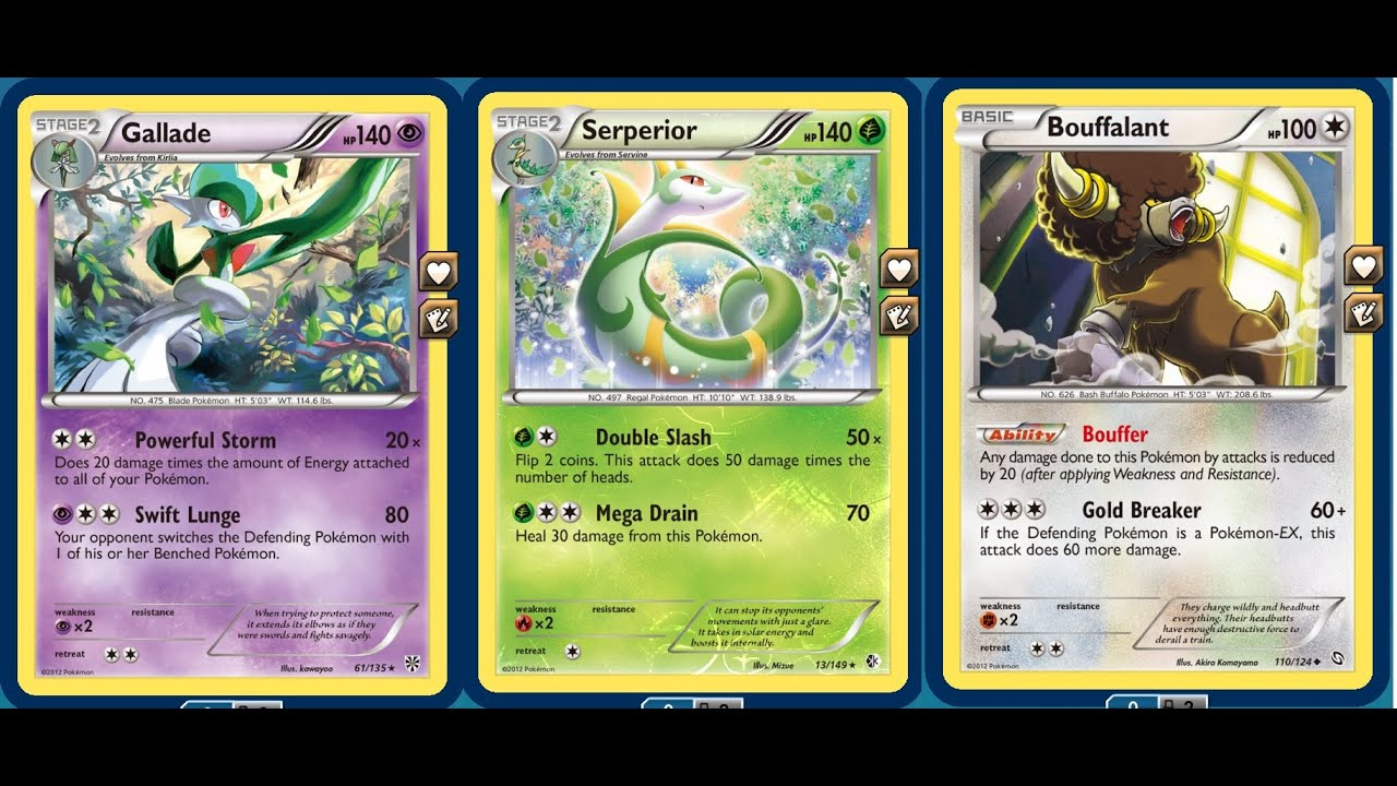 Free Cards Only Budget Gallade Serperior Deck Without Ex Pokemon Youtube