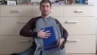 Обзор: городской рюкзак - антивор для путешествий. Доставка по Украине.(, 2017-01-27T14:22:59.000Z)