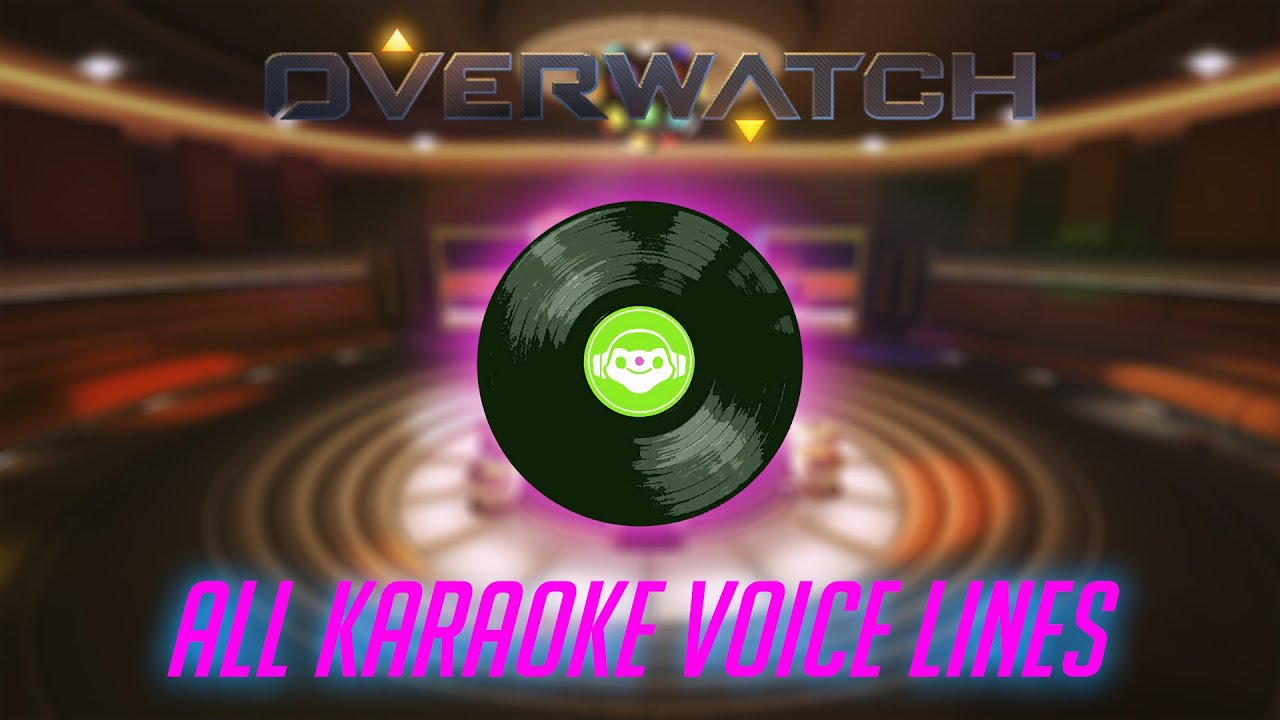 Overwatch - All Karaoke Voice Lines V2 (Ashe, Baptiste, Widow + More Added)