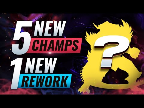MASSIVE CHANGES: 5 NEW CHAMPIONS + 1 NEW REWORK - League Of Legends Season 10