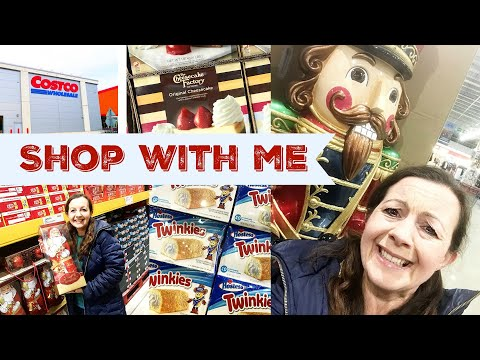 COSTCO SHOP WITH ME | Getting Ready For Christmas | USA Treats From Costco