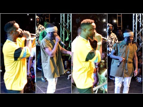 Sarkodie - Stonebowy Thrilled 100k Fans at Medikal's Music Concert