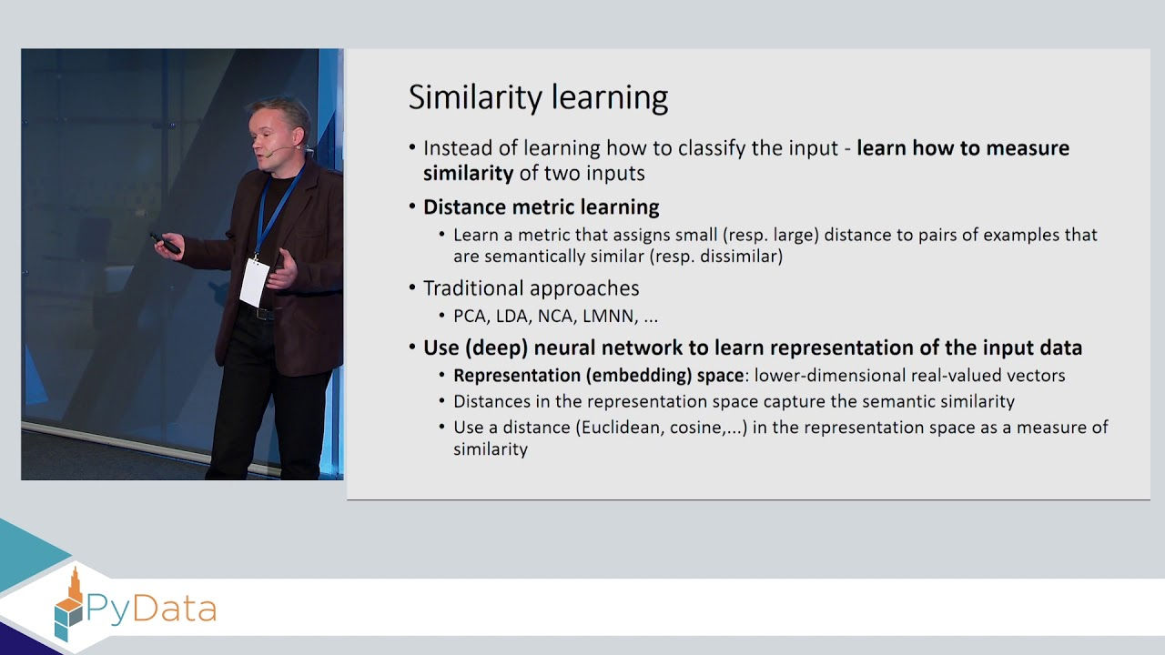 Image from Similarity learning using deep neural networks - Jacek Komorowski