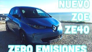 Renault Zoe ZE 40 Presentación Review