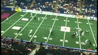 Arena football League-Tyrone Timmons WR Tampa Bay Storm