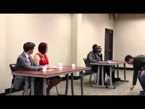 2015 Wichita State University SGA debates