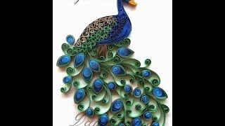 видео Квиллинг «птицы» (павлин, петух, попугай и жар-птица): мастер-класс и фото