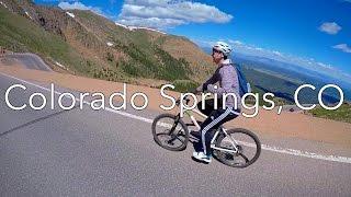 Biking Down Pikes Peak!
