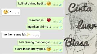 BIKIN BAPER!!! Prank Text Ke Pacar Pake Lagu CINTA LUAR BIASA By Andmesh Kamaling (Auto Baper!!)