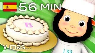 Tortas, Tortitas | Y Muchas Más Canciones Infantiles | ¡56 Min De Littlebabybum!