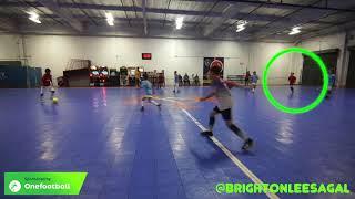 Man In Middle- Brighton Lee Sagal Futsal game.