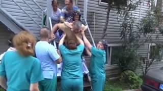 Hastanede çıgan yangından sonra hastalar tahliye edildi