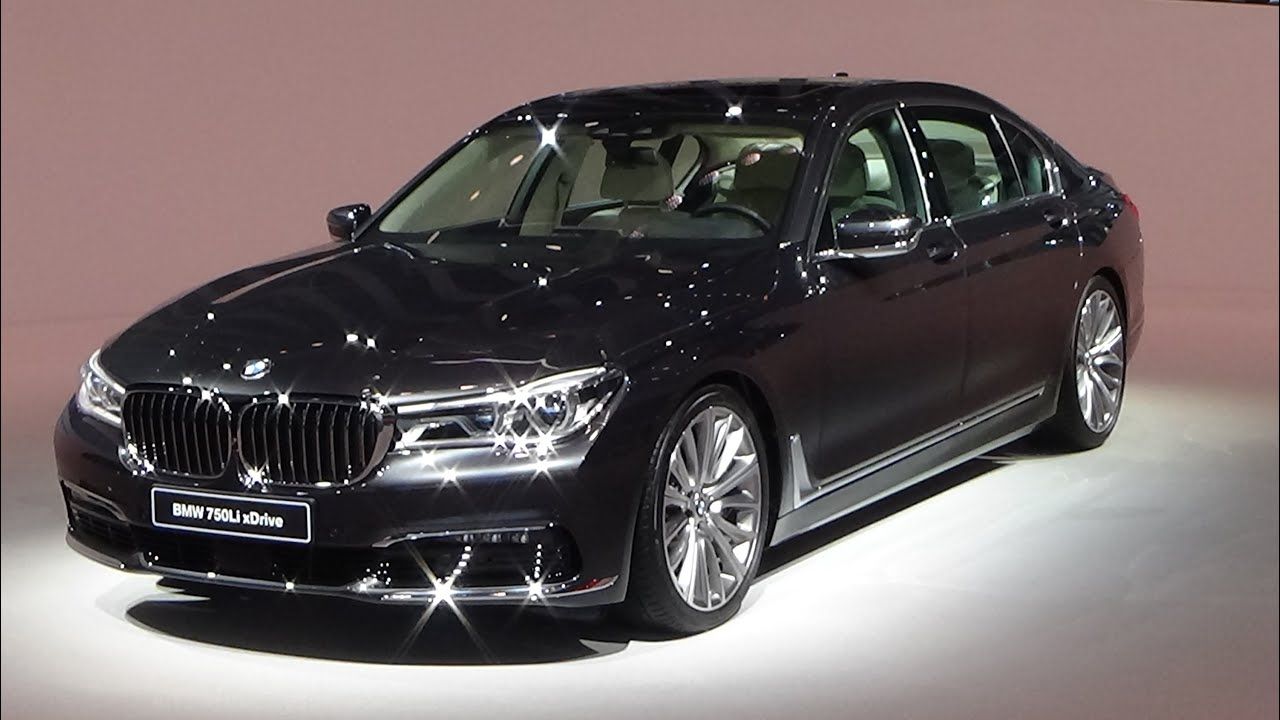 2016 - bmw 750li xdrive - iaa frankfurt 2015 - youtube