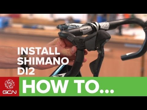 How To Install Shimano Electronic Di2 Groupsets