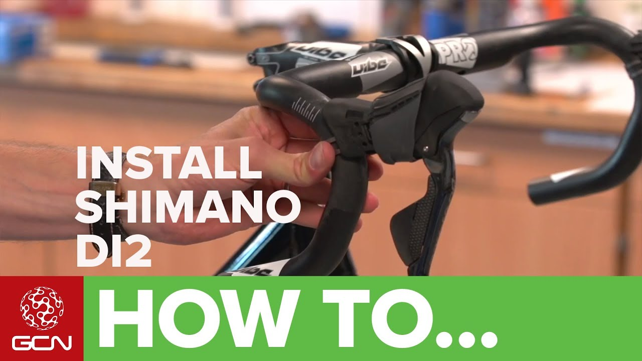 maxresdefault how to install shimano electronic di2 groupsets youtube ultegra di2 tt wiring diagram at love-stories.co