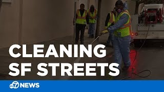 Street cleaners shed new light on San Francisco homeless problem