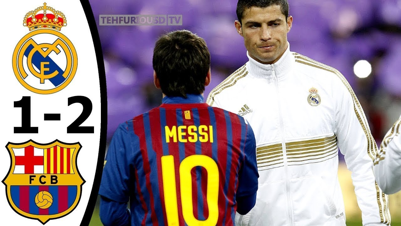 Download Real Madrid vs FC Barcelona 1-2 All Goals and Highlights with English Commentary (CDR) HD