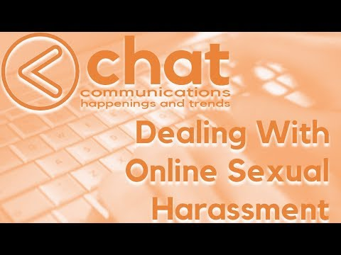 Dealing With Online Sexual Harassment