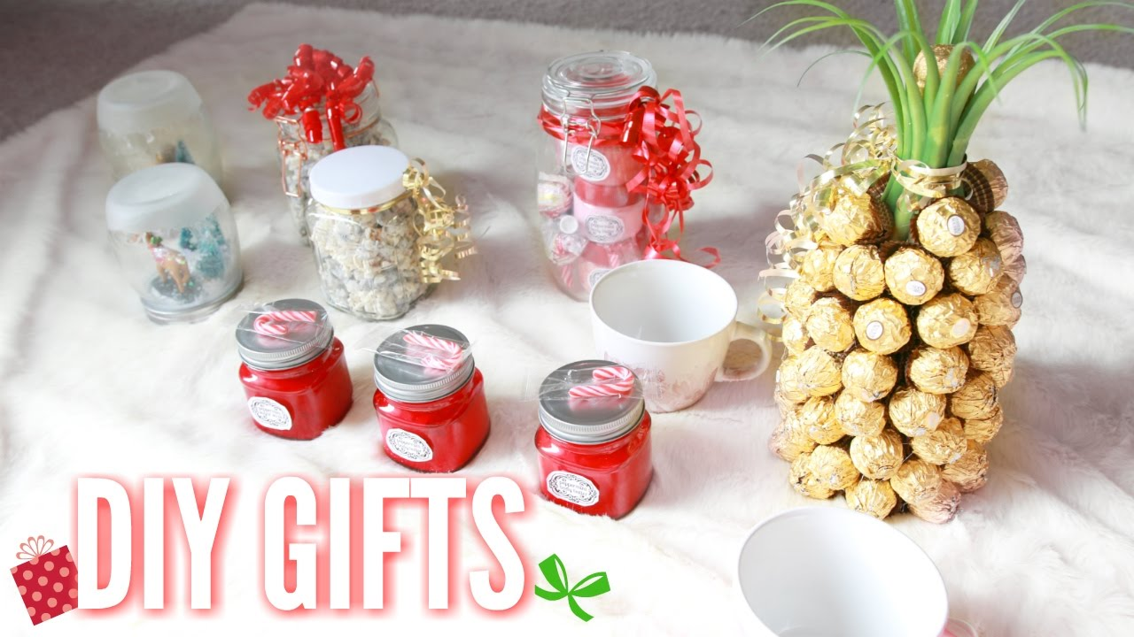 Diy Christmas Gifts Easy At Home Gift Ideas Youtube