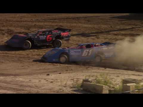Old Bradford Speedway RUSH Crate Late Model Heat Races 7-8-18