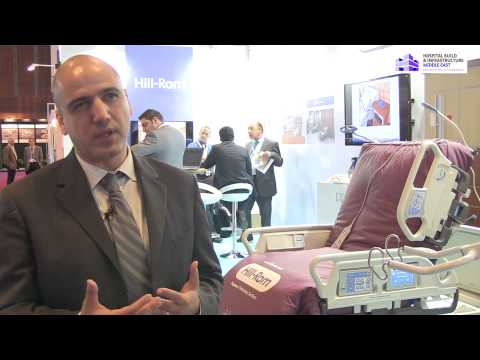 Hospital Build Middle East 2014 Interview with Hill-Rom