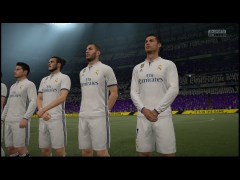 Real Madrid x Bayern de Munique - 18/04/2017 UEFA Champions League Star Difficulty Gameplay FIFA 17