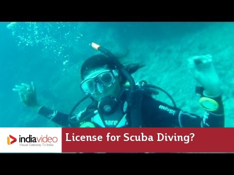 How will you get license for Scuba Diving?