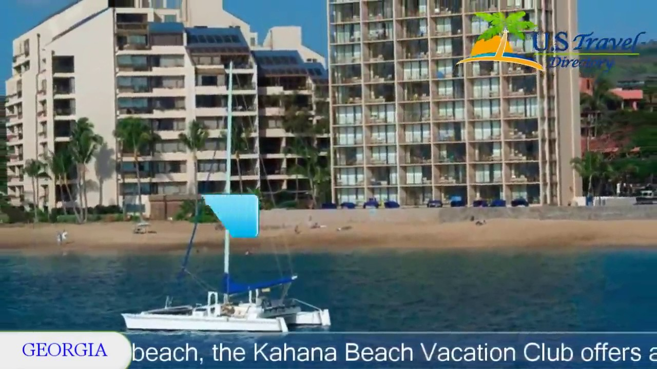 Kahana Beach Vacation Club Lahaina Hotels Hawaii