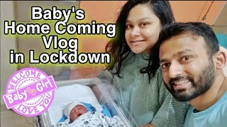 BABY GIRL HOMECOMING VLOG   NEW BORN WELCOME AT HOME   AsianBeautySarmistha